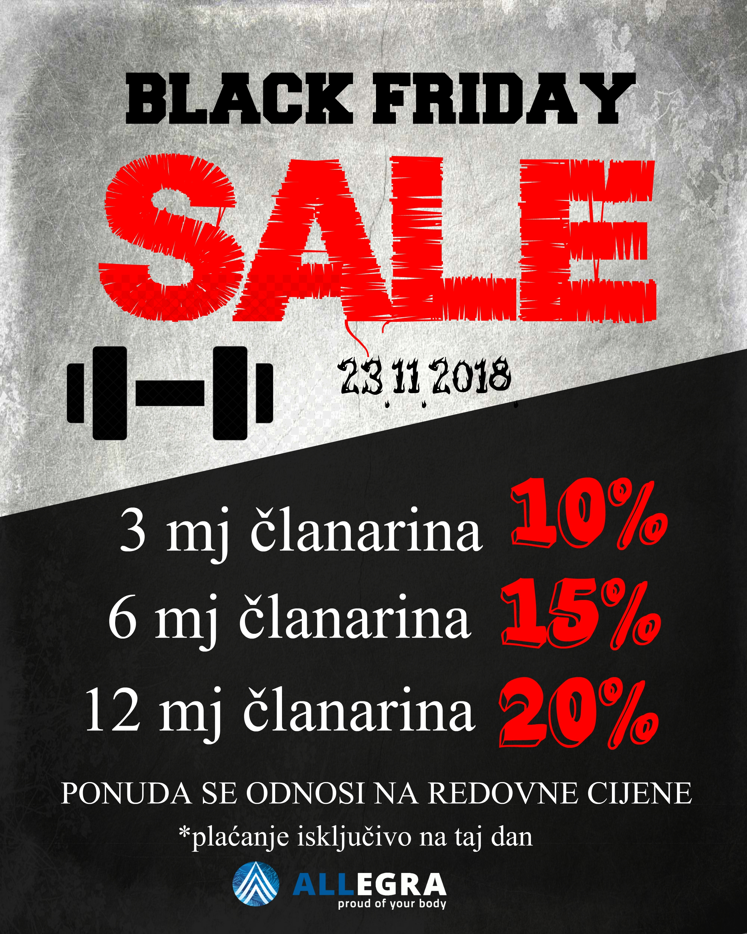 BLACK FRIDAY PLAKAT
